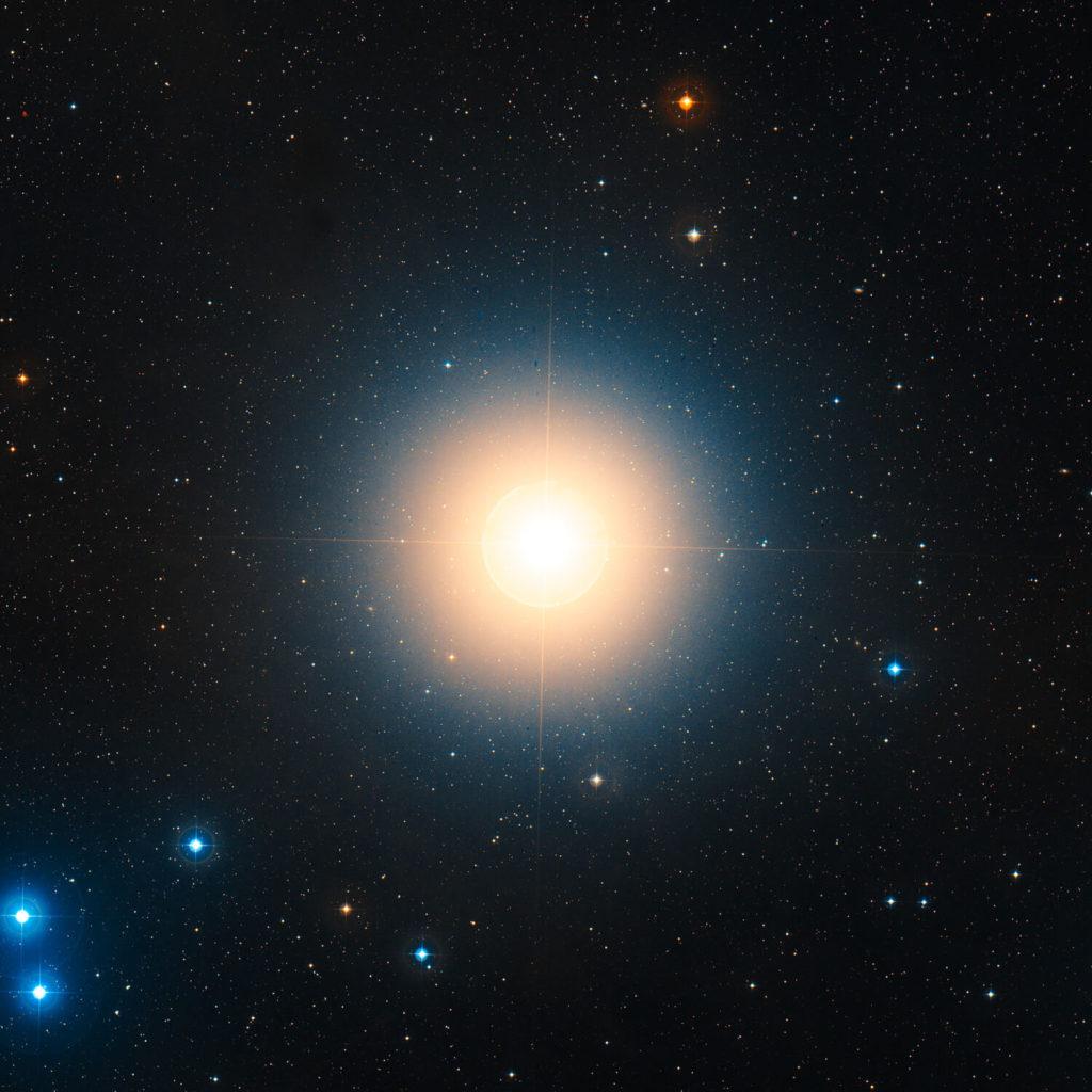nombre de estrellas - Aldebaran