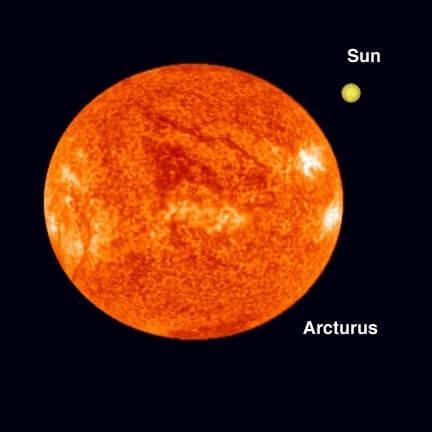 nombre de estrellas - arcturus - arturo