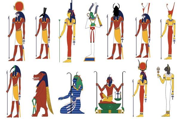 nombres de dioses egipcios