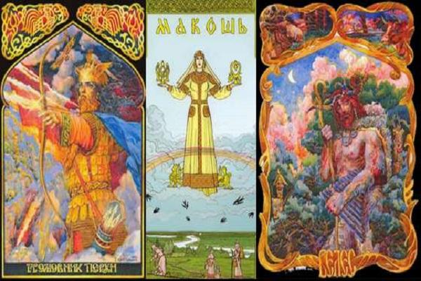 nombres de dioses eslavos