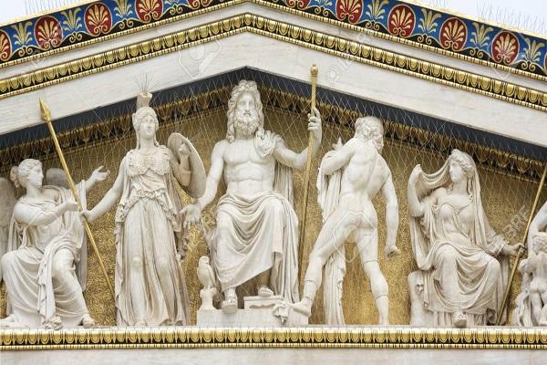 nombres de dioses griegos