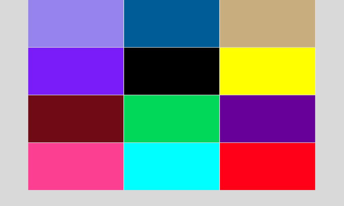 Nombres de los colores y su significado