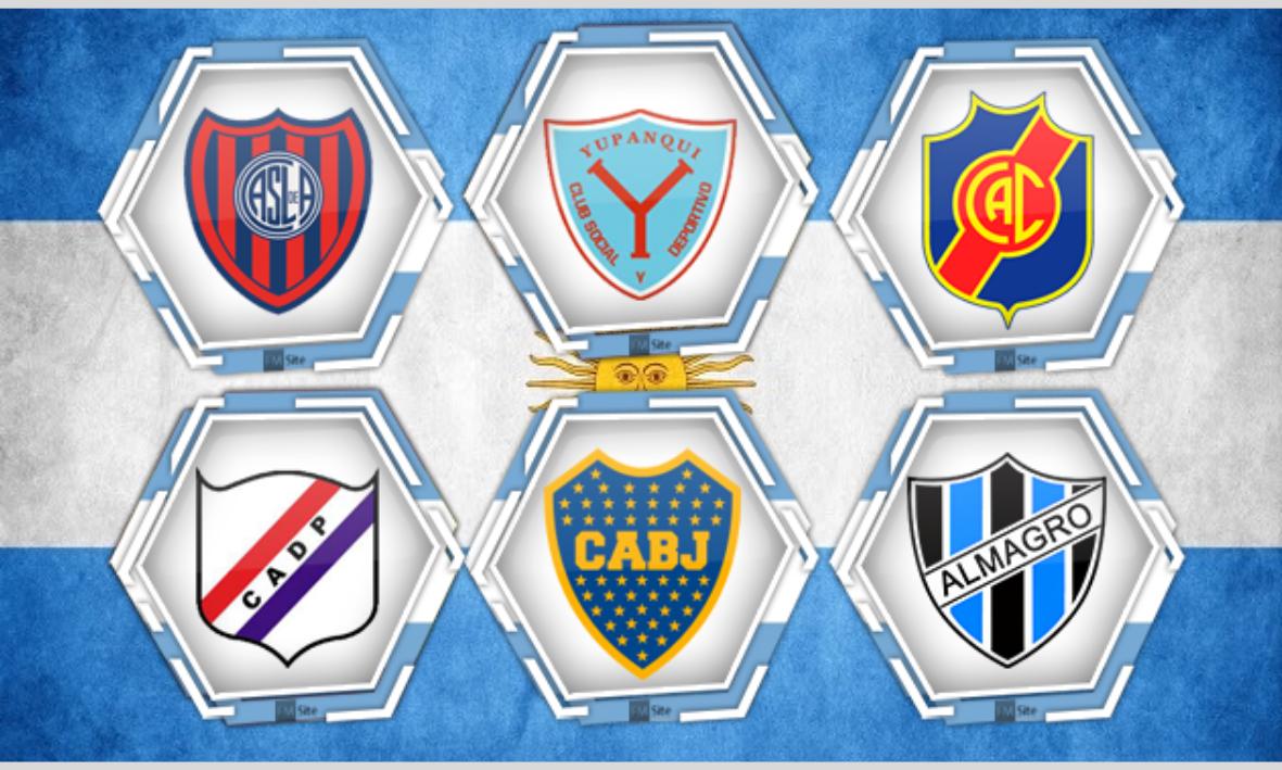 ⚽ Todos los equipos de fútbol de Argentina