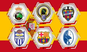 nombres de equipos españoles de futbol