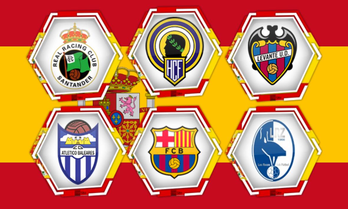⚽ Todos los equipos de fútbol de España