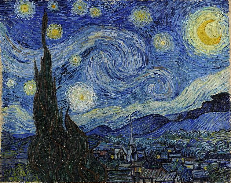 Noche estrellada - Vincent van Gogh