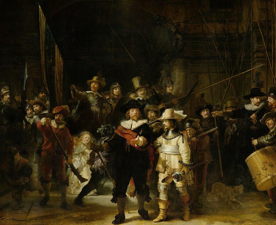 La Guardia Nocturna - Rembrandt van Rijn