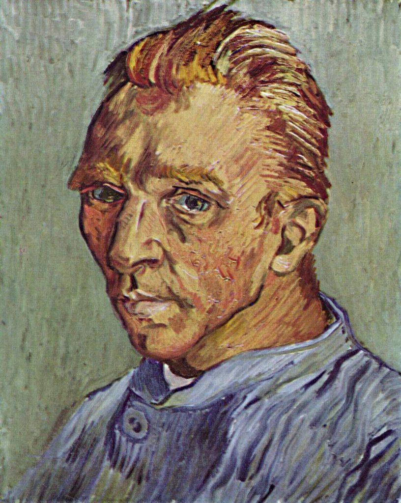 Autorretrato sin barba - Vincent van Gogh