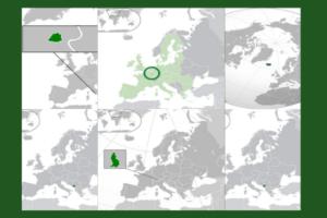 los 10 paises mas pequeños de europa