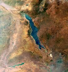 mapa del lago malawi