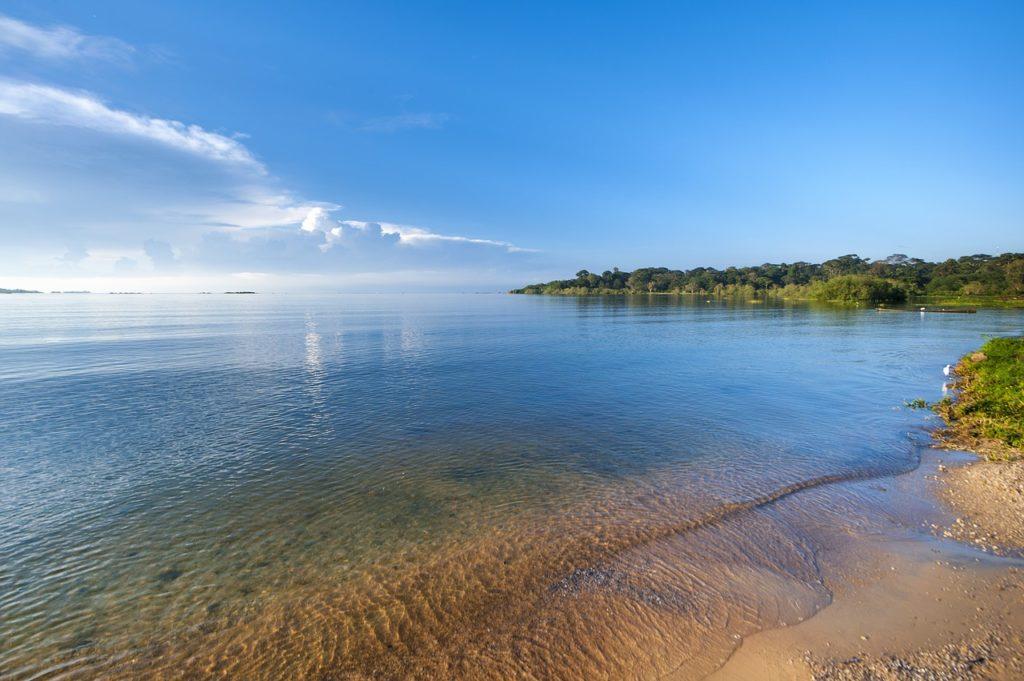 costa del lago victoria de africa