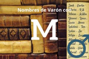 Nombres de Varon con M
