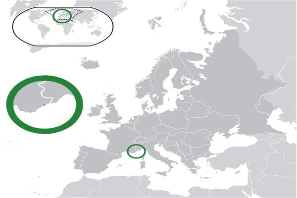 mapa de monaco
