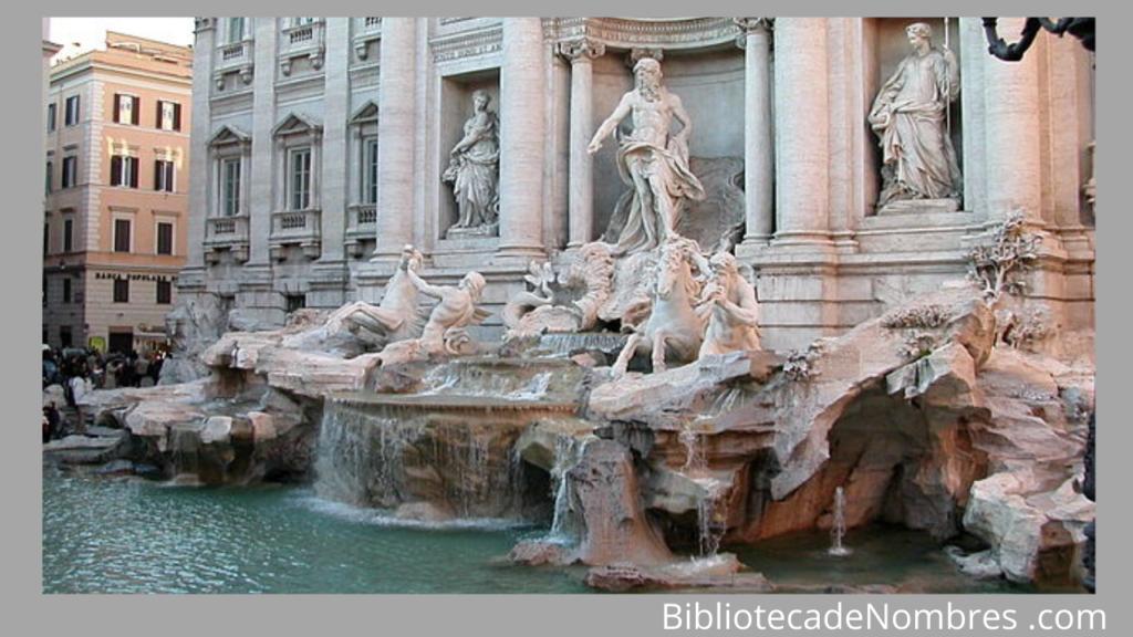 Fontana di Trevi - Fuentes famosas del mundo