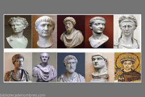 Nombres de Emperadores Romanos