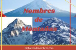 nombres-de-montañas