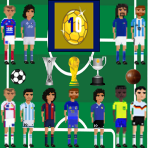 The Greatest 10 - Football Legends