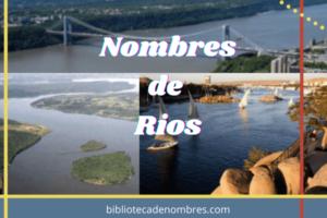 nombres de rios